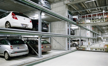 Egypt's First Automatic Hydraulic Parking Garage is Now Open in Heliopolis