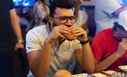 Chili's Celebrates 25 Years in Egypt with Epic Burger-Eating Contest