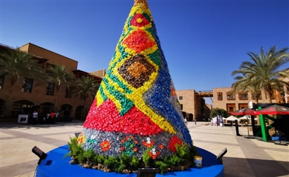 AUC Brings the Christmas Spirit Using Recycled Plastic