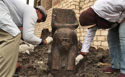 Rare Ramses II Statue and Temple Unearthed Under Giza Man's House