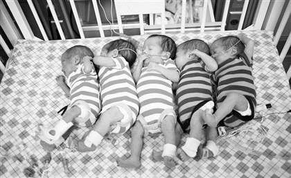 Egyptian Woman Gives Birth to 4 Girls and 1 Boy in Unusual Quintuplets Case