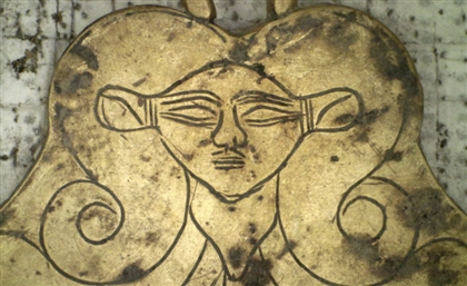 Gold Pendant Depicting Ancient Egyptian Goddess Discovered in Greece