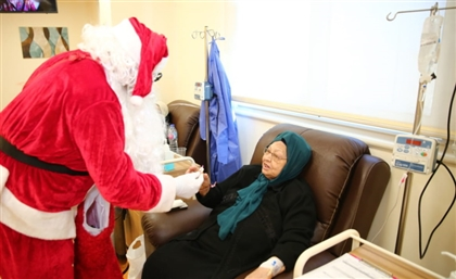Santa Claus Visits Cancer Patients in Luxor