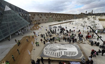 Egypt Breaks Guinness World Record for Biggest Coffee Cup Mosaic