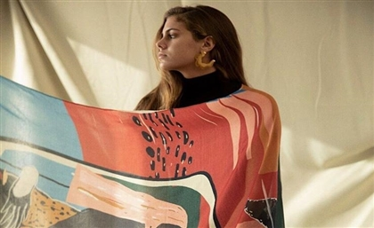 Egyptian Brand Rebel Makes Gorgeous Scarves That Look Like Watercolour Masterpieces