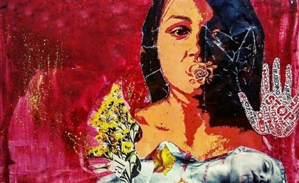 UNFPA Uses Egyptian Student Fatma Mahmoud's Art to Address Women's Issues