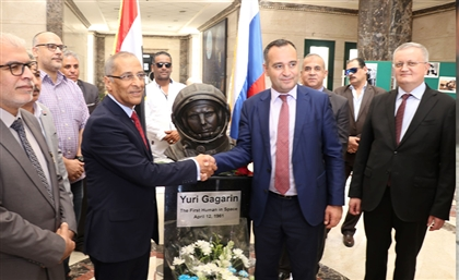 Egyptian Space Agency Receives Statue of World's First Astronaut from Russia
