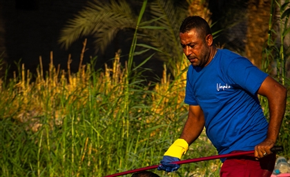 VeryNile Collaborates with Cairo Fishermen to Clean the Nile