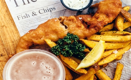 New Walk of Cairo Restaurant Is Basically a Fish & Chip Haven