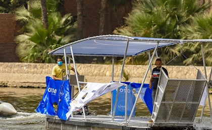 This New Boat Will Remove 500KG of Trash from the Nile Every Week