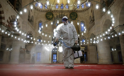 Major Mosques Across Egypt Sterilised for Ramadan