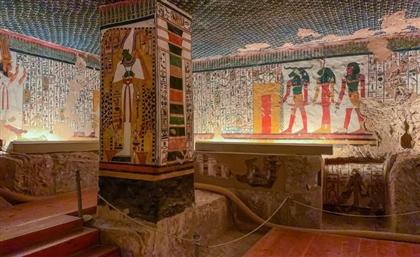Experience Nefertari's Tomb in VR