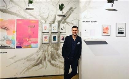 Polish-Bulgarian Artist Martin Budny Exhibits at Osana Wellness Centre