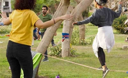 Find Perfect Balance with Slackline Egypt's Tightrope Community