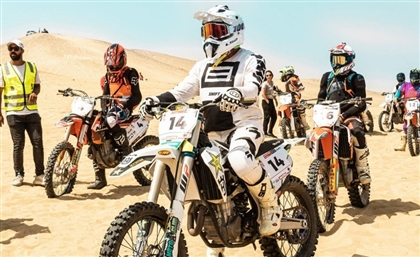 Egypt Motorcycle Rally Goes Full Throttle for Final Round in Fayoum