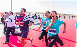 Cairo Runners Hit the Nile for Final Run of the Season