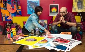 Absolut Warhol Art Exchange: Moe Asem X Hanan Ghanem