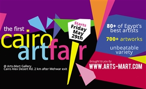 Arts-Mart's Cairo Art Fair About to Kick Off