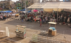 Exclusive Pics: Cairo Traders in Ghost Town