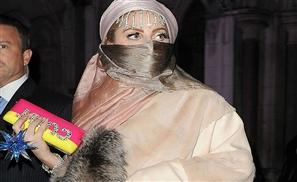 Lady Gaga Leaks Burqa