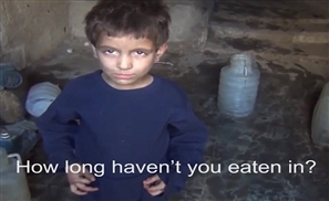 I Eat Grass to Survive: Syrian Child's Heartbreaking Video Goes Viral