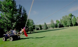 VIDEO: Get Slung With The Human Slingshot