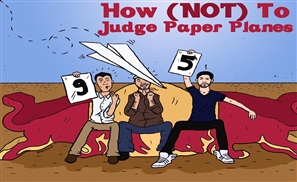 How (Not) To Judge Paper Planes