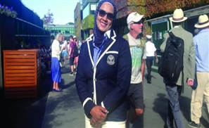 Wimbledon Welcomes First Arab Female Umpire