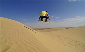 Sand Boarding Goes Pro in Egypt