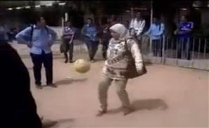 Egyptian Teacher Kicks Ass