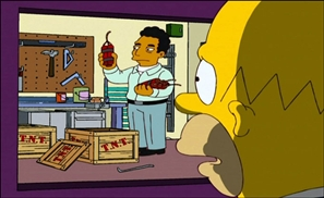 'Simpsons' Behind Arab Spring