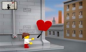 Banksy + Lego = Bricksy