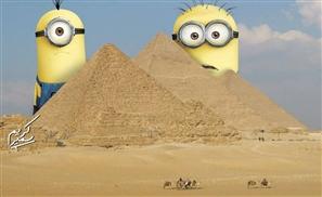 Minions Take Over Egypt