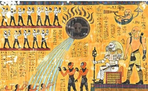 Mad Max Retold in Egyptian Hieroglyphs
