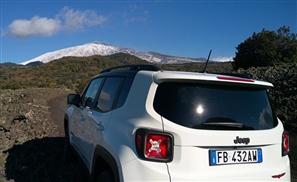 Team #Jeep_Egypt Conquer An Active Sicilian Volcano