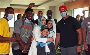 AFWB: When NFL Stars Bring More Than Just Football To Egypt