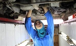 Meet the Female Mechanic Defying Gender Roles in Egypt