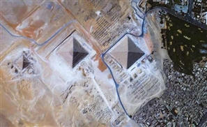 VIDEO: Ultra HD Footage Of The Pyramids And Burj Khalifa From Space