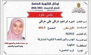 Egypt's Smartest Girl Will Not Be Congratulated by The Ministry of Education