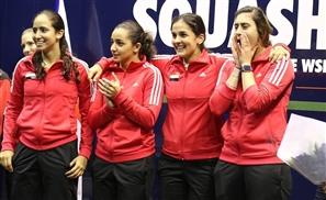 Egypt Beats England, Winning Women's World Team Squash Championship