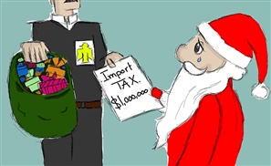 10 Only-in-Egypt Problems Santa Will Face This Year