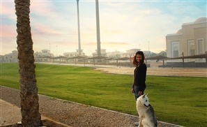 This 18-Year-Old Egyptian Girl Just Created a New Dog Walking Service with GPS Tracking in Cairo