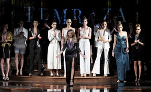 Egyptian Designer Farida Temraz Just Killed It at New York Fashion Week AND The Grammys
