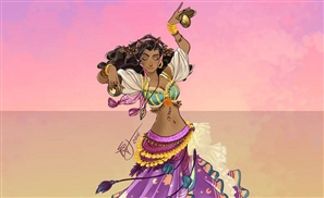 Italian Artist Brilliantly Re-Imagines 10 Disney Princesses As Exotic Belly Dancers