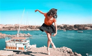 7 Captivating Photos of the Beautiful Ballerinas of Cairo Taking over Aswan