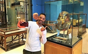 Stop Whatever You're Doing, Will Smith is in Cairo