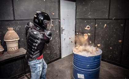 You Can Now Smash Things in Cairo's First Ever Rage Room and Not Get Arrested