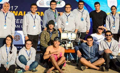 AUC Student Club Builds Underwater Robot