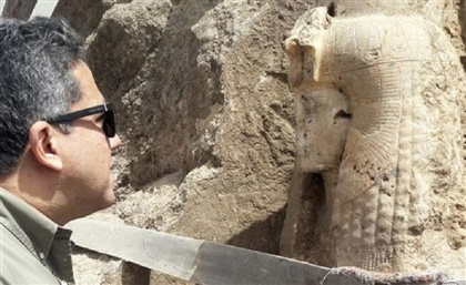 European-Egyptian Archaeology Team Accidentally Unearths Statue of Tutankhamun's Grandmother