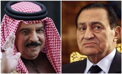 Bahrain's King Allegedly Visited Mubarak Last Night
